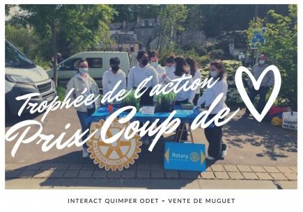 TROPHÉE DE L'ACTION : COUP DE COEUR POUR L'INTERACT DE QUIMPER ODET